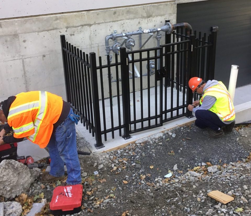 Commercial Safety Railing